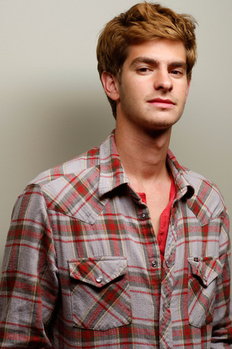 "Andrew Garfield achtergrond called ""Boy A"" Portrait Shoot"
