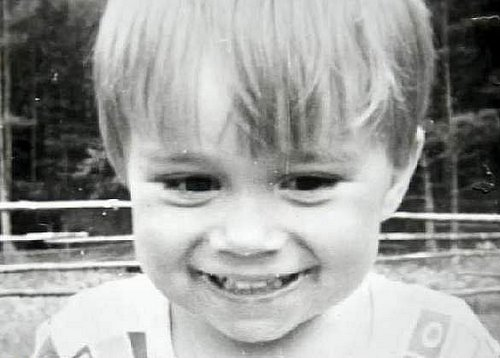 Alex as a little sweetheart<3
