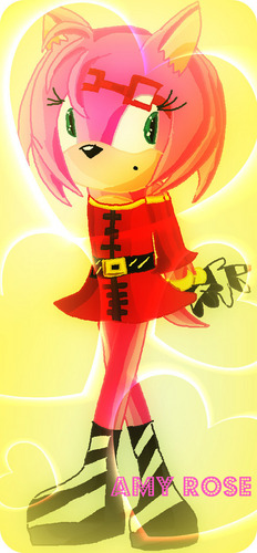 Amy Rose - amy-rose Fan Art