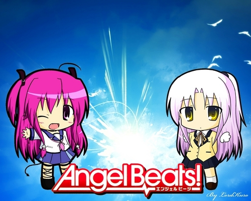 Angel Beats! wallpaper called Angel Beats Chibi!