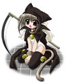 anime reaper Cat girl