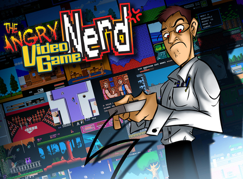 Avgn cartoon