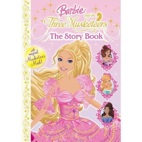 Barbie and the three musketeers book