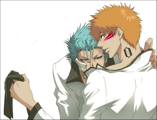 Bleach Yaoi wallpaper entitled Ichigo x Grimmjow