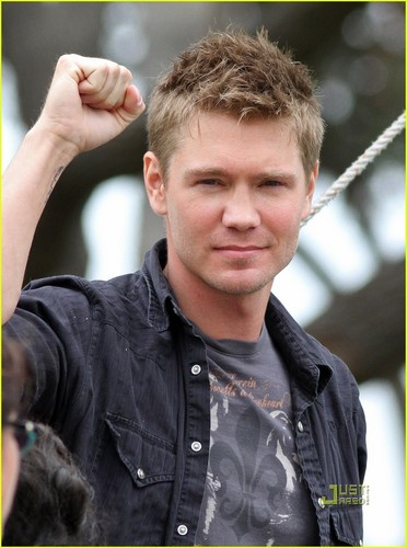 Chad Michael Murray Lies In Plain Sight