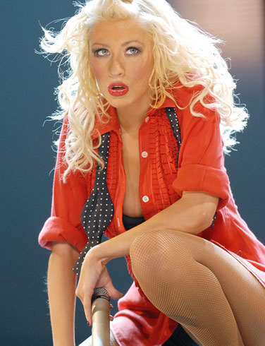 Christina Aguilera Back to Basics tour