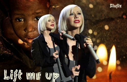 Christina Aguilera lift me up