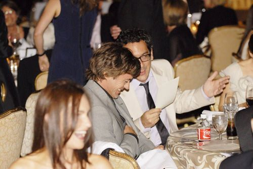 Robert Downey Jr. achtergrond titled Gene Siskel Film Center's Annual Benefit - 19th June