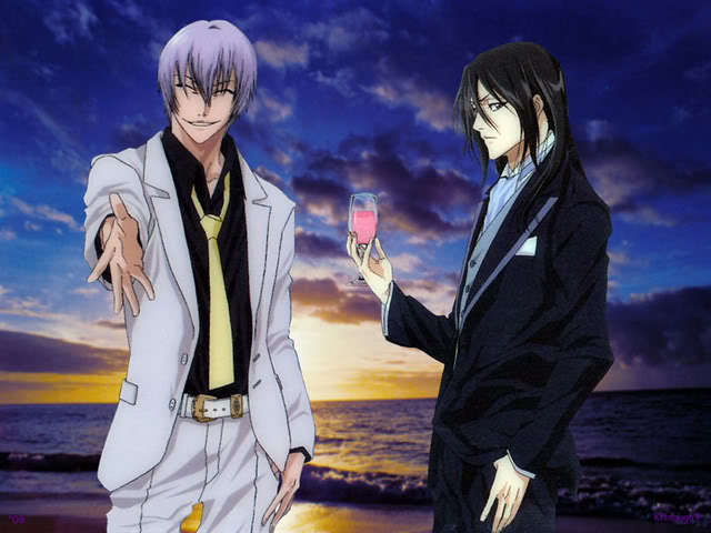 gin and Byakuya
