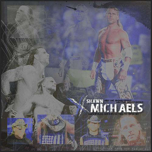 Shawn Michaels Hintergrund titled HBK
