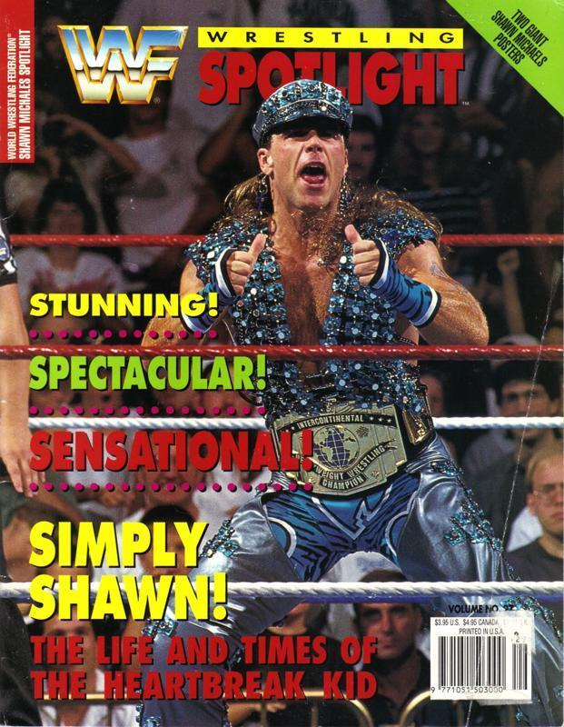 WWF Magazine Cover