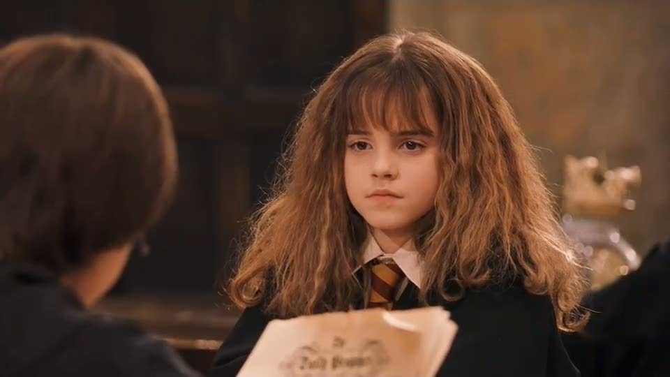 Hermione Granger in HP and the sorcerer´ s stone