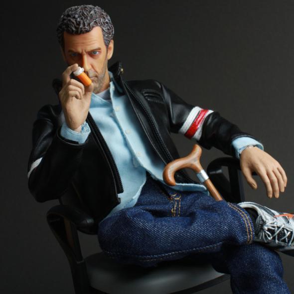 Hugh Laurie-  doll