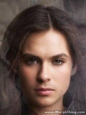 Ian and Nina morphed