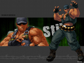 KOF XII- clark - the-king-of-fighters wallpaper