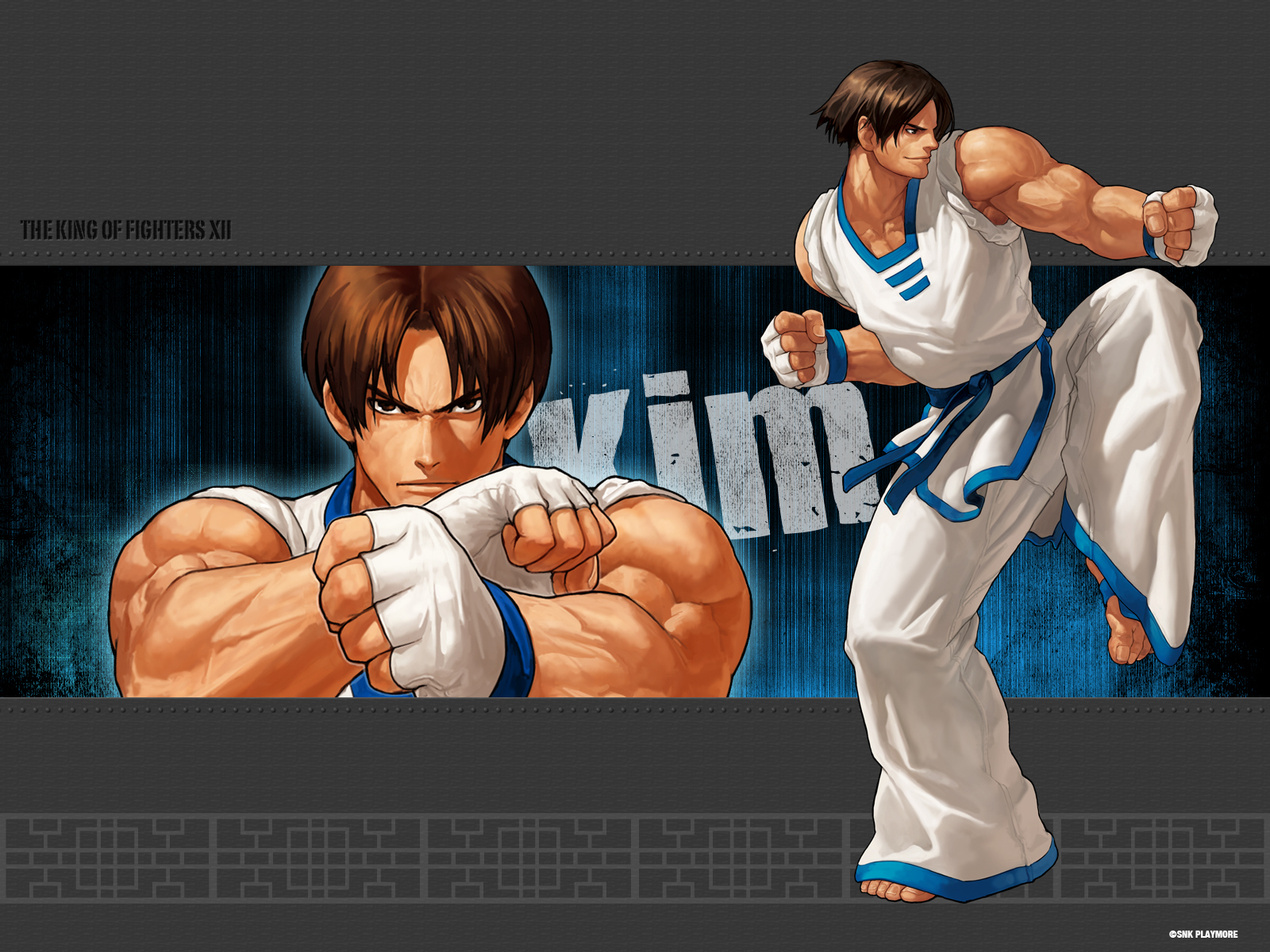 kof xii kim the king of fighters karatasi la kupamba ukuta 13589080 fanpop fanpop