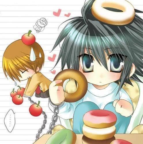 death note chibi light - photo #37
