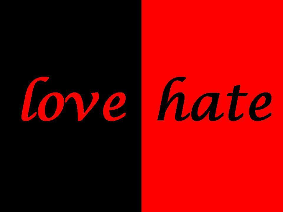 other words for love hate relationship pictures
