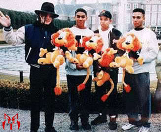 MJ & his Nephews