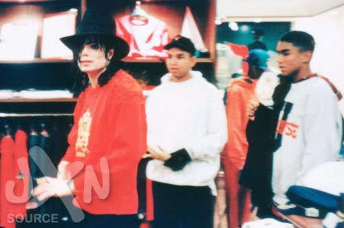 MJ & his Nephews