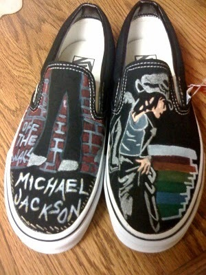 Mj on shoes