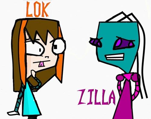 My Characters- Lok and Zilla