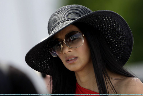 Nicole at Canadian F1 Grand Prix