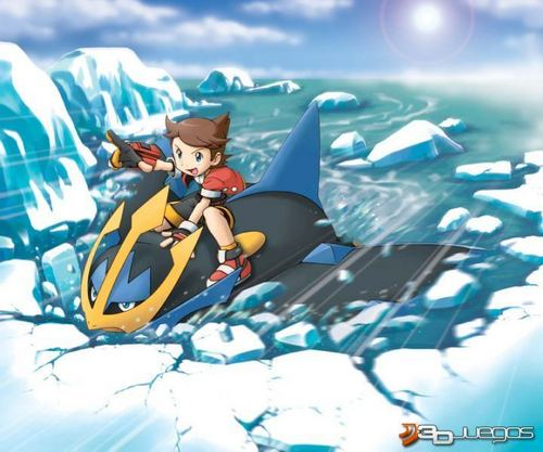 Ranger riding an empoleon