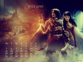 Prince of Persia July Calendar