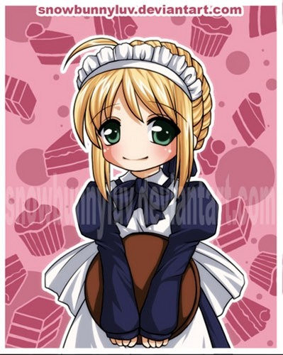 Saber The Maid