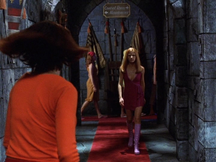 Sarah in Scooby-Doo