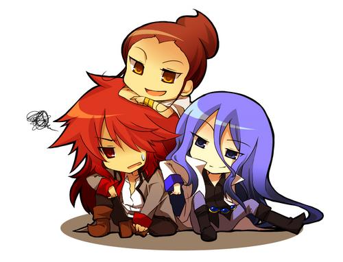 Sasorina, Cobraja and Kumojacky