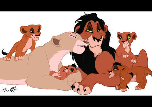 Scar and his family