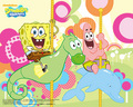 Sea Horsie - spongebob-squarepants wallpaper