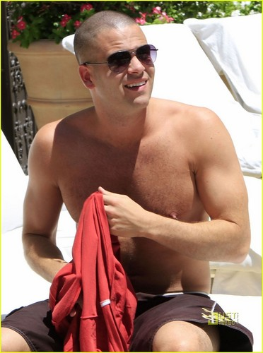 Shirtless Mark Salling: 4th of July Weekend
