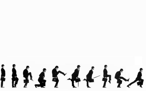 Silly Walk - monty-python Wallpaper