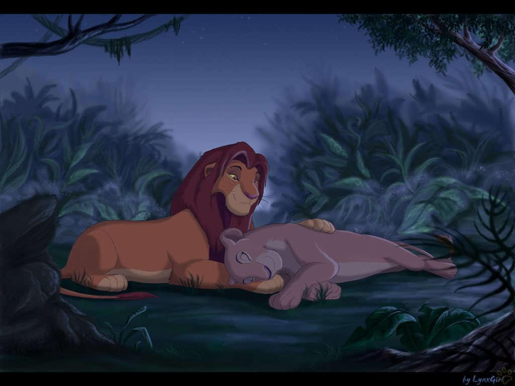 Simba&Nala♥ - the-lion-king fan art