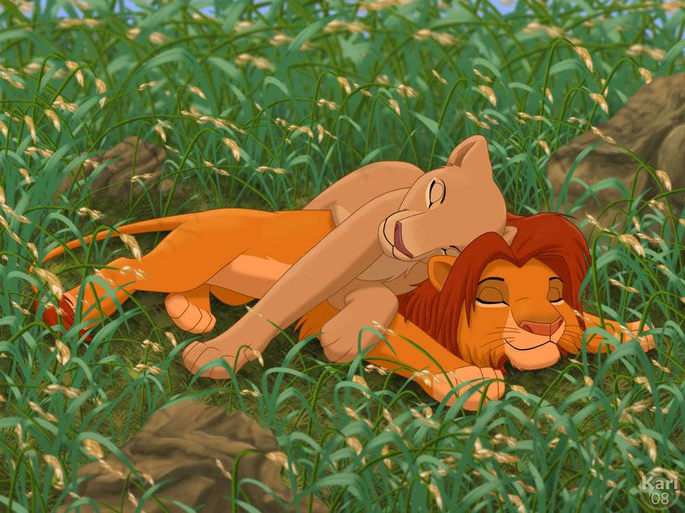 Simba&Nala ♥ - the-lion-king fan art