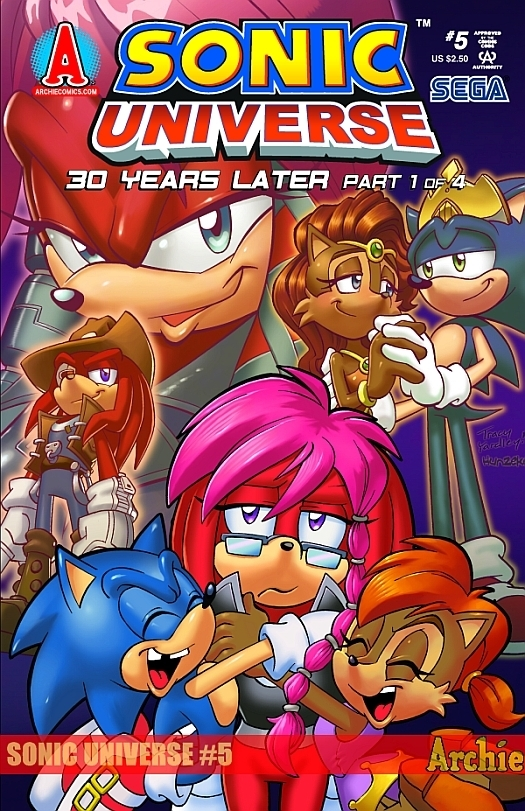 Sonic Universe 30 Years Later