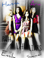 Spencer,Aria,Hanna&Emily  - pretty-little-liars-girls fan art