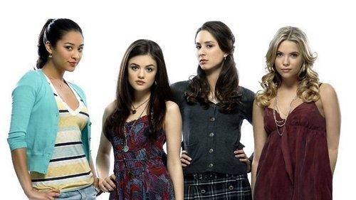 Spencer,Aria,Hanna&Emily (HQ)