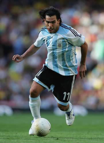 TEVEZ uno de los mejores jugadores de argentina