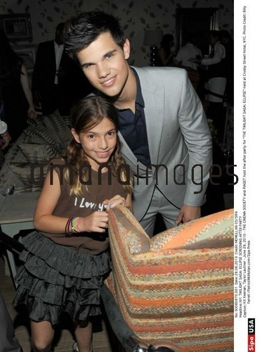 """Taylor at the NYC """"Eclipse"""" Screening afterparty"""
