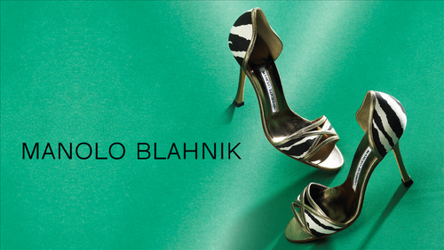 Try this, Berni! A pair of Manolo Blahnik shoes!!!!