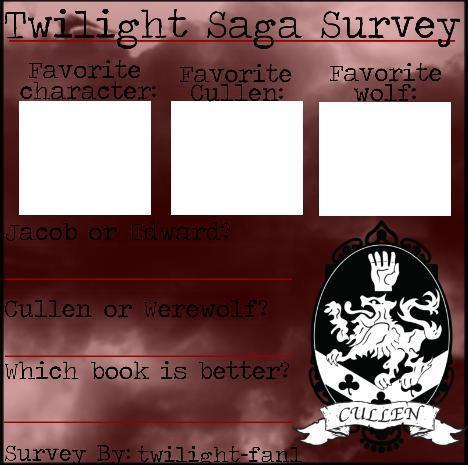 Twilight Survey