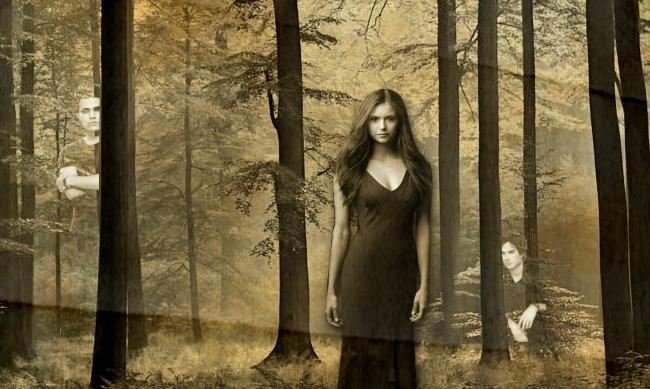 Watching you. - the-vampire-diaries fan art