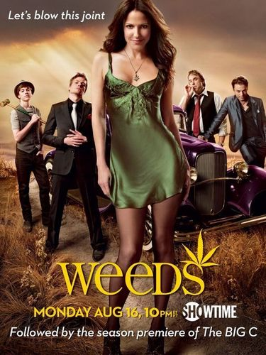 Weeds wallpaper entitled Weeds Season 6 Poster
