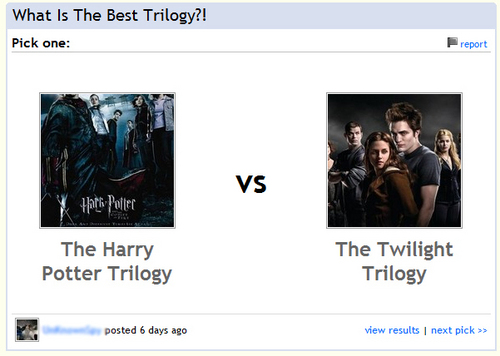 What is a trilogy?