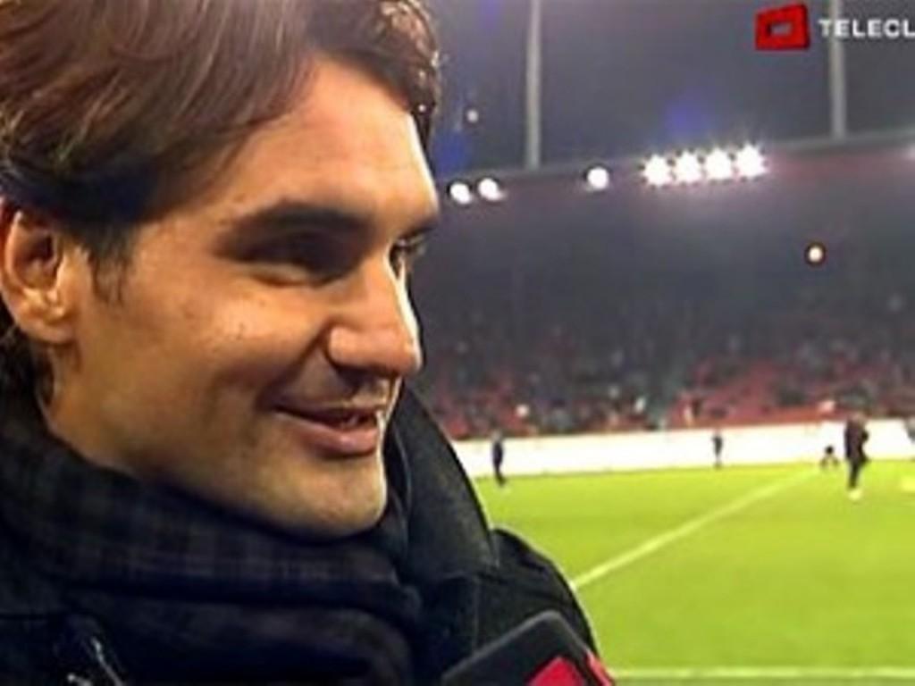 Wimbledon? No,football says Federer !!!!