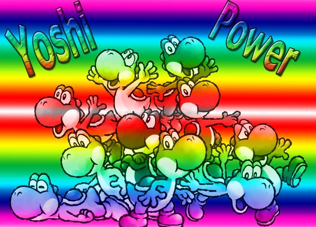 Yoshi Power Yoshi Photo 13539603 Fanpop